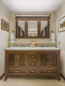 With Elegant Simplicity And Ample Storage, Strasser Woodenworksu0027  Freestanding Vanity Helps Create A Welcoming Designer Bath